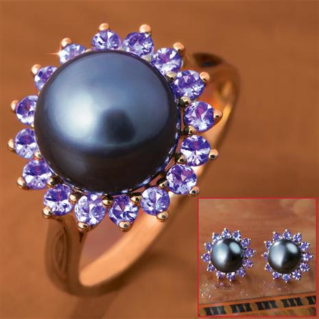 Exotique Ring & Earrings Set