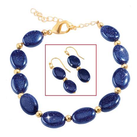 Night Sky Bracelet & Earrings Set