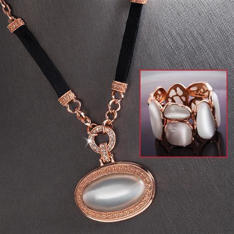 Lynx Lucina Necklace & Bracelet Set