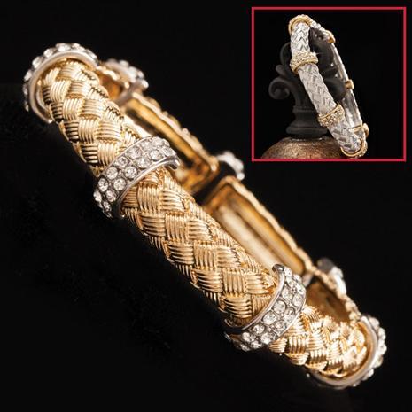 Prima Silver & Gold Bracelets (Set of 2)