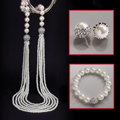 Sopresa Necklace, Bracelet & Earrings Set