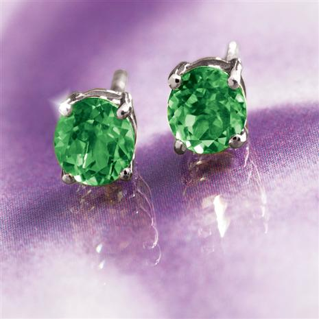 Helenite Stud Earrings