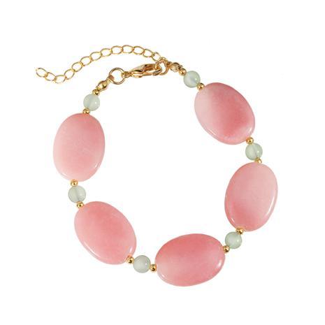 Aragonite Blush Bracelet