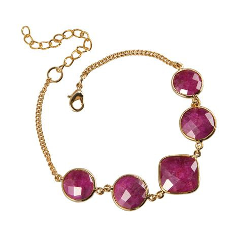 Romancing the Ruby Bracelet