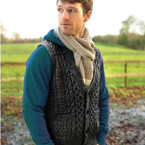 Genuine Irish Wool Vest