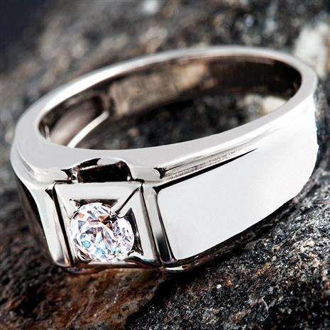 Mens Adamas Diamond Aura Ring