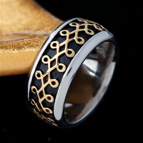 Men's Galahad Steel Ring