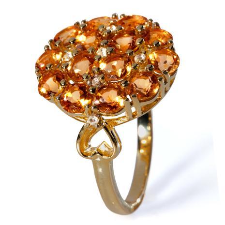 Suncrest Citrine Ring