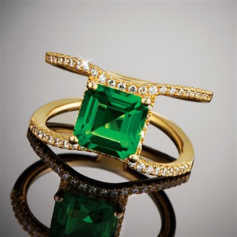 Helenite Horizons Ring