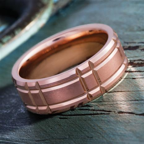 Mens Tungsten Challenge Ring