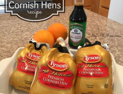 #JuicyGrilledCornish #ad Easy, Healthy Cornish Hen Recipe with less than 10 ingredients!