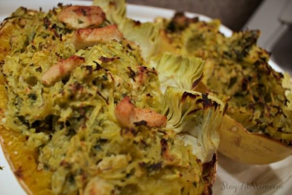 Paleo Artichoke Pesto Pasta3
