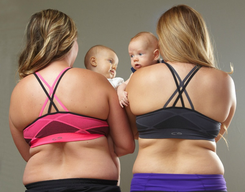 REAL postpartum bodies, with REAL postpartum results using Macros from StayFitMom.com
