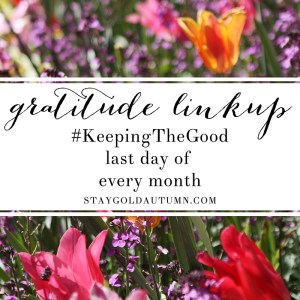 ANNOUNCEMENT: #KeepingTheGood Linkup!