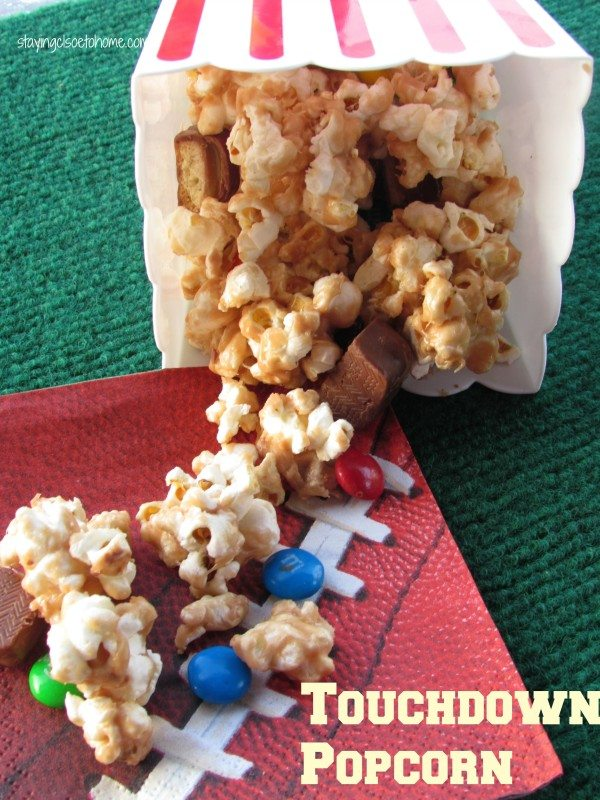 Celebrate Football Season with Mars Candy Bar Popcorn Bar