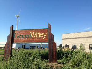GreenWhey sign