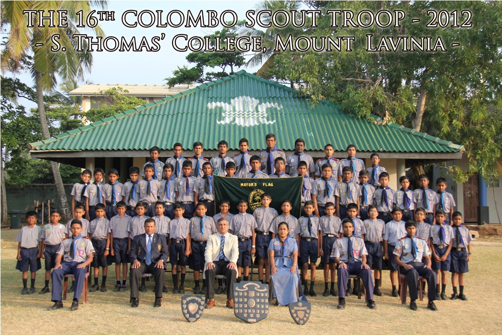 16th Colombo Scout Troop2