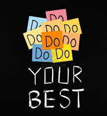 The Myth of Do Your Best