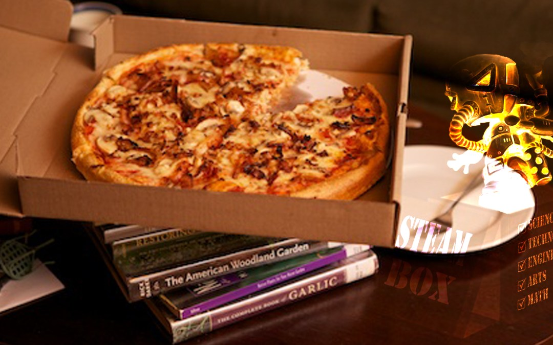 A Book and A Slice for EVERY. SINGLE. STUDENT.