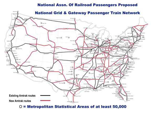 Map Of Us Train Routes - Amtrak map of routes in us