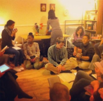 I Love the Small Group Bible Studies in the Homes: Short and Sweet! [an example of a home meeting with students and believers]