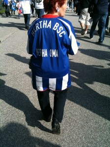 Hertha Fan Oma Foto