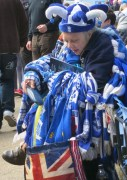 Lady in blue, Birmingham City