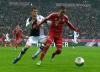 Spielszene FC Bayern gegen Eintracht Frankfurt