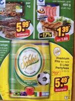 Dosenbier und Wurst - Angebote zur WM