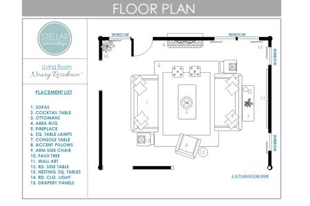 floor plan for living room stellar interior design