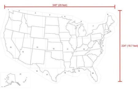 usa map stencil, playground stencil