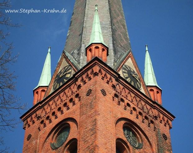 Kirchturmuhr der Peter-Paul-Kirche