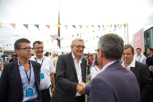 Rencontre avec notre partenaire de gauche, Pierre Laurent, Secrétaire national du PCF