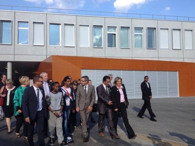 Inauguration collège Clichy sous Bois