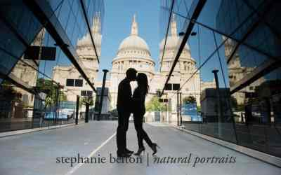 Iconic London maternity photo session