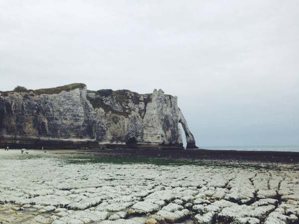 The Cliffs of Étretat // via Stephanie Howell