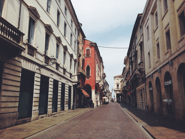 Vicenza, Italy // via Stephanie Howell #vicenza # italy