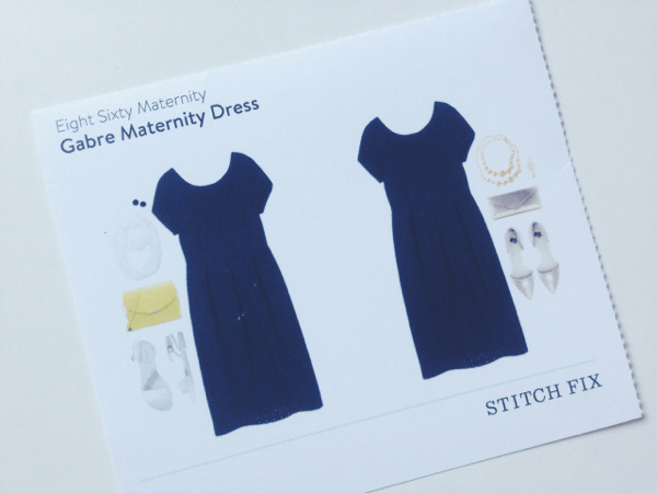 Gabe Maternity Dress // Stitch Fix Review // via Stephanie Howell #stitchfix #review #maternity