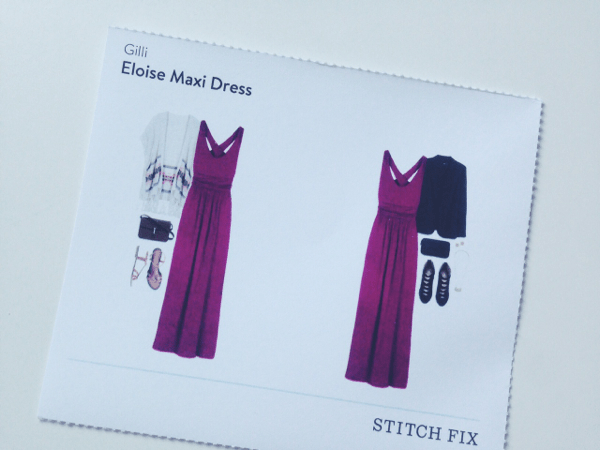 Eloise Maxi Dress // Stitch Fix Review // via Stephanie Howell #stitchfix #review #maternity