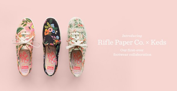 Rifle Paper Co for Keds // via Stephanie Howell