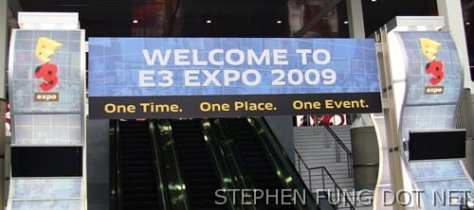 Im at the 2009 E3 Expo in LA