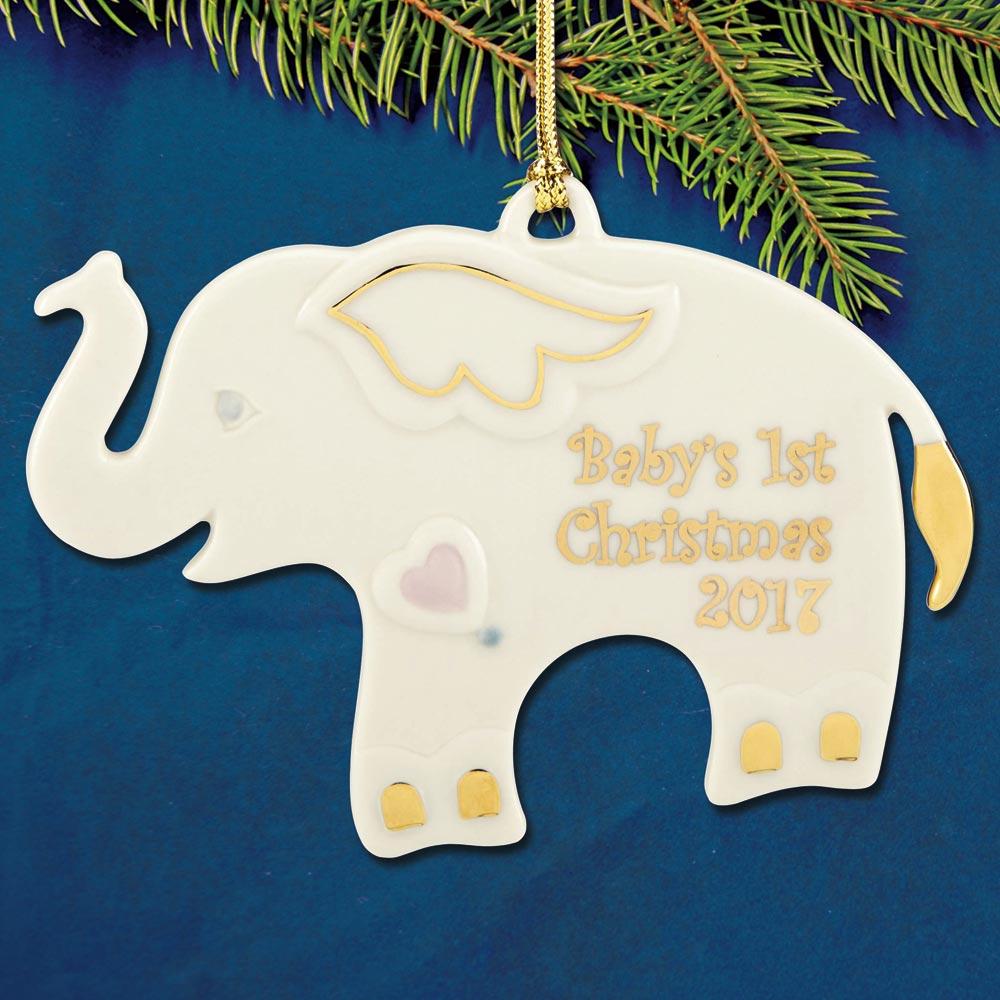 Stupendous 2017 Lenox Elephant Porcelain Ornament Collectables 2017 Lenox Elephant Porcelain Ornament Lenox Ornaments 2017 Lenox Ornaments 2016 houzz-03 Lenox Christmas Ornaments