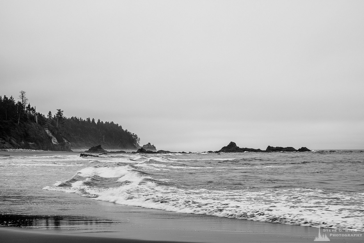 Coastline, Ruby Beach, Olympic National Park, Washington, 2013