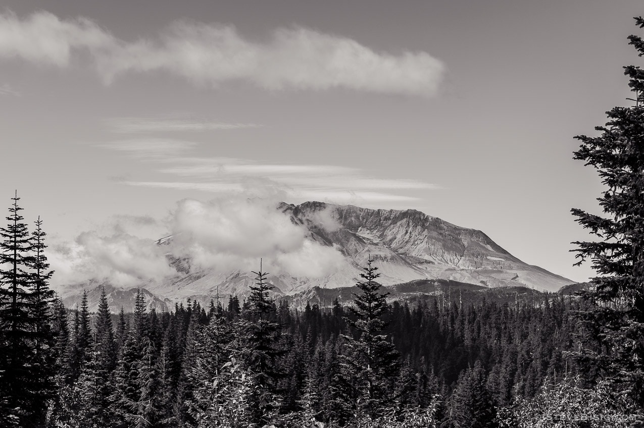 Mount St. Helens, Bear Meadows, Washington, 2014