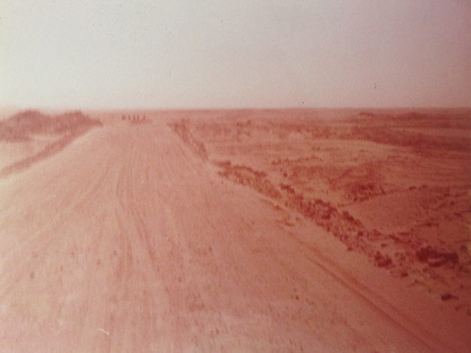 Titled 'old road to UAE'