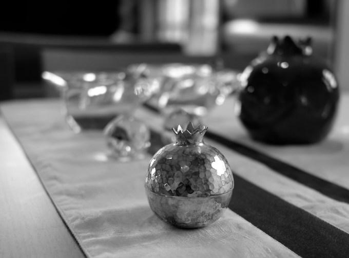 Little Silver Pot in the dark