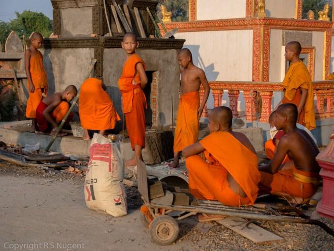 Near Angkor Bahn, Cambodia