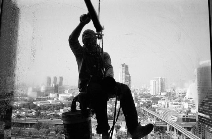 Bangkok High Rise Leica M6 Elmarit Tri-X ISO250
