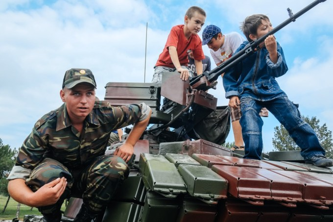 army children transnistria