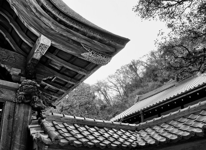Kamakura temple, Japan